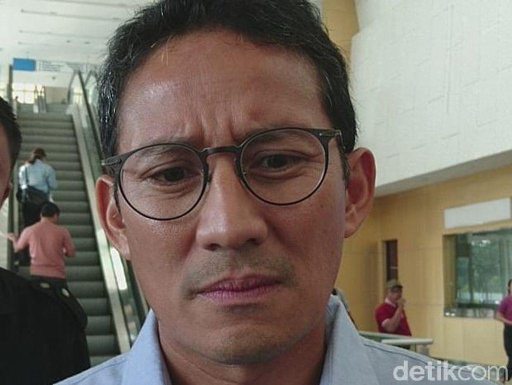 Sandiaga Doakan Anies Segera Temukan Jodoh di DKI