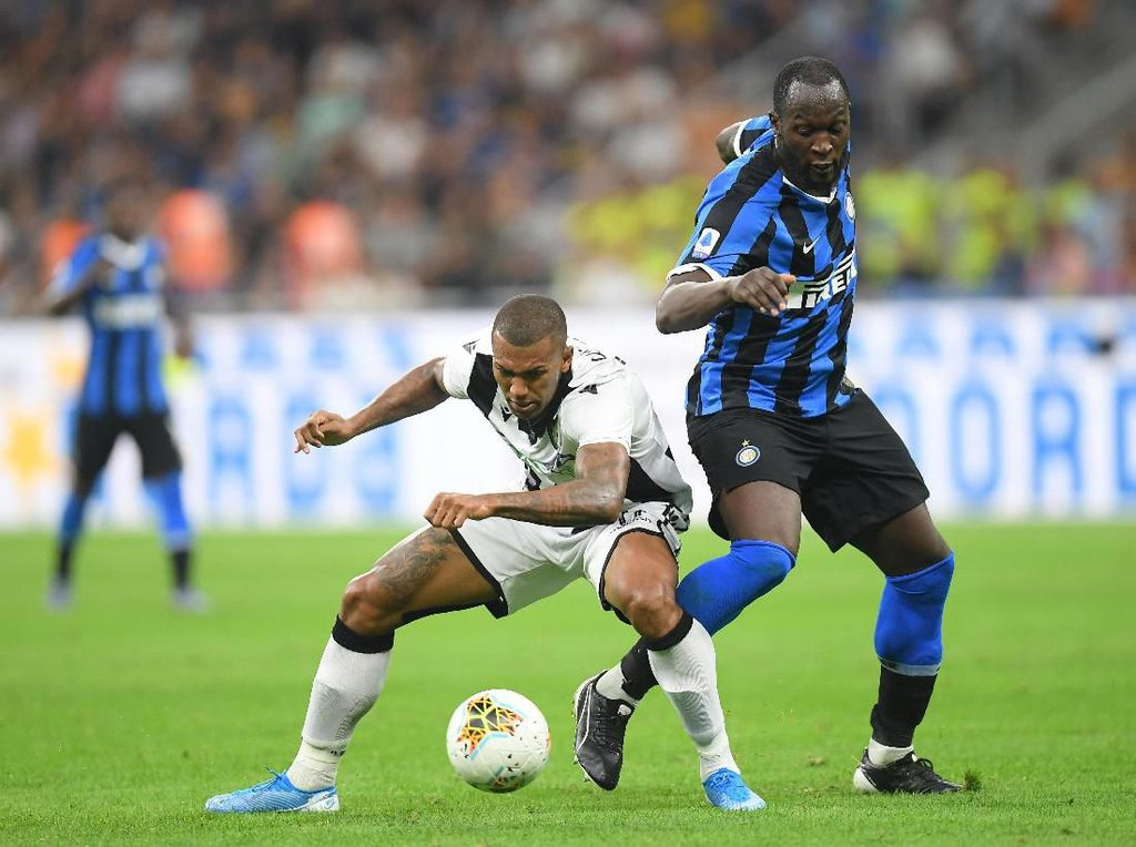 Inter Vs Udinese: 65% Ball Possession, 22 Tembakan, 1 Gol