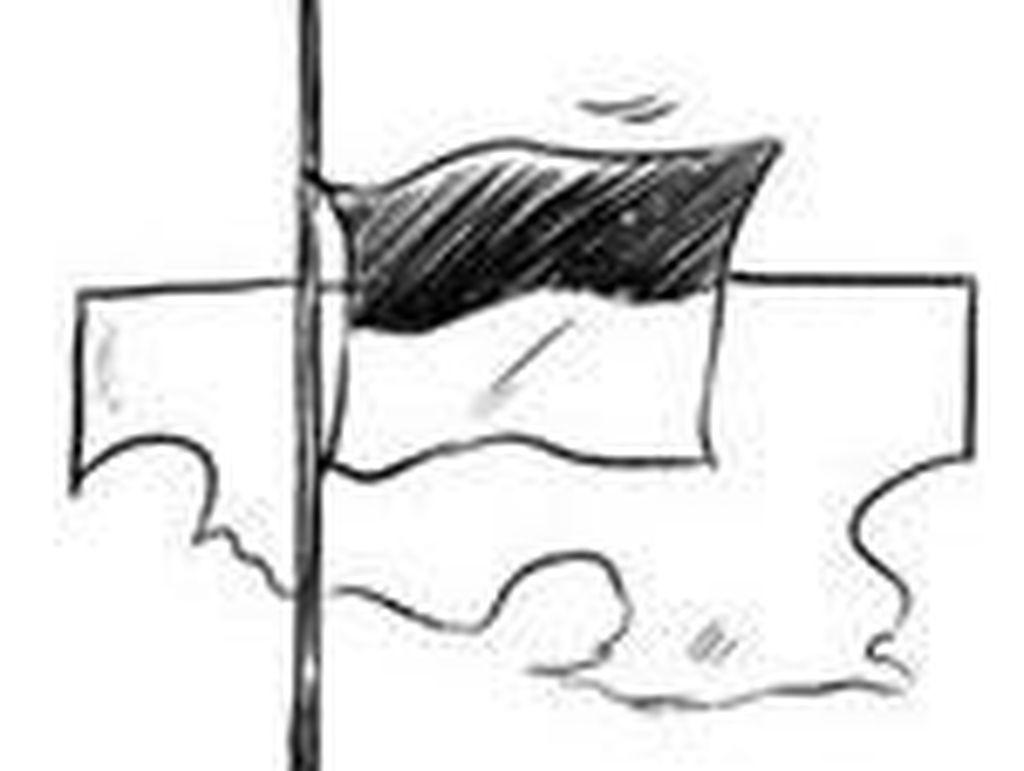 Bendera Setengah Tiang untuk KPK