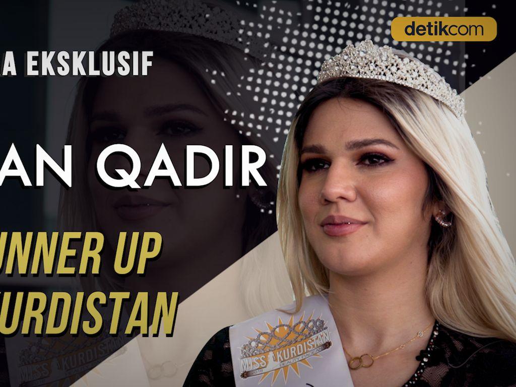 Lebih Dekat dengan Miss Kurdistan 2019: Indonesia Orangnya Ramah