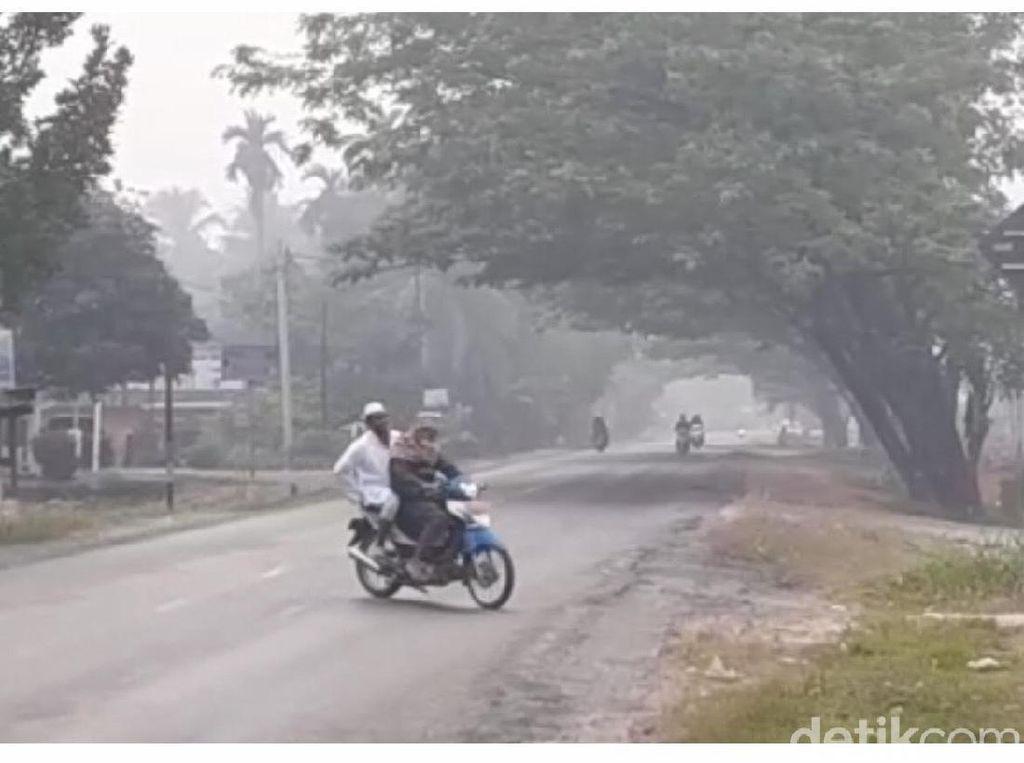 Kabut Asap Masuk Sumbar, Sekolah di Dharmasraya Diliburkan