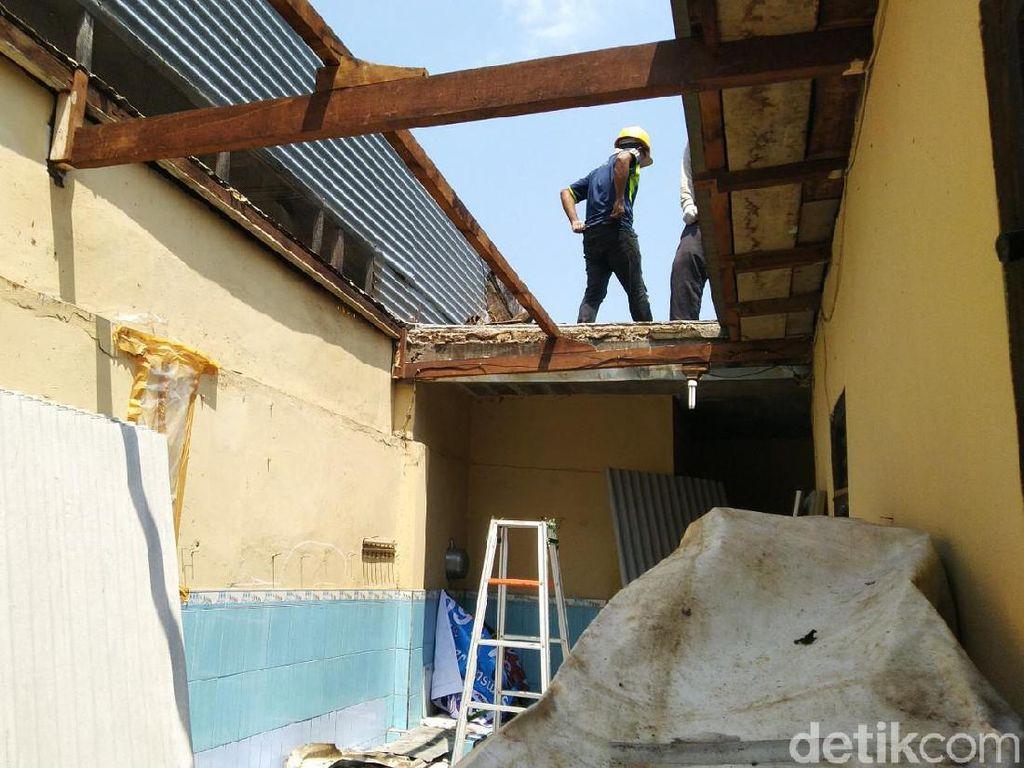 Deretan Rumah Rusak Imbas Ledakan di Mako Brimob Terus Diperbaiki