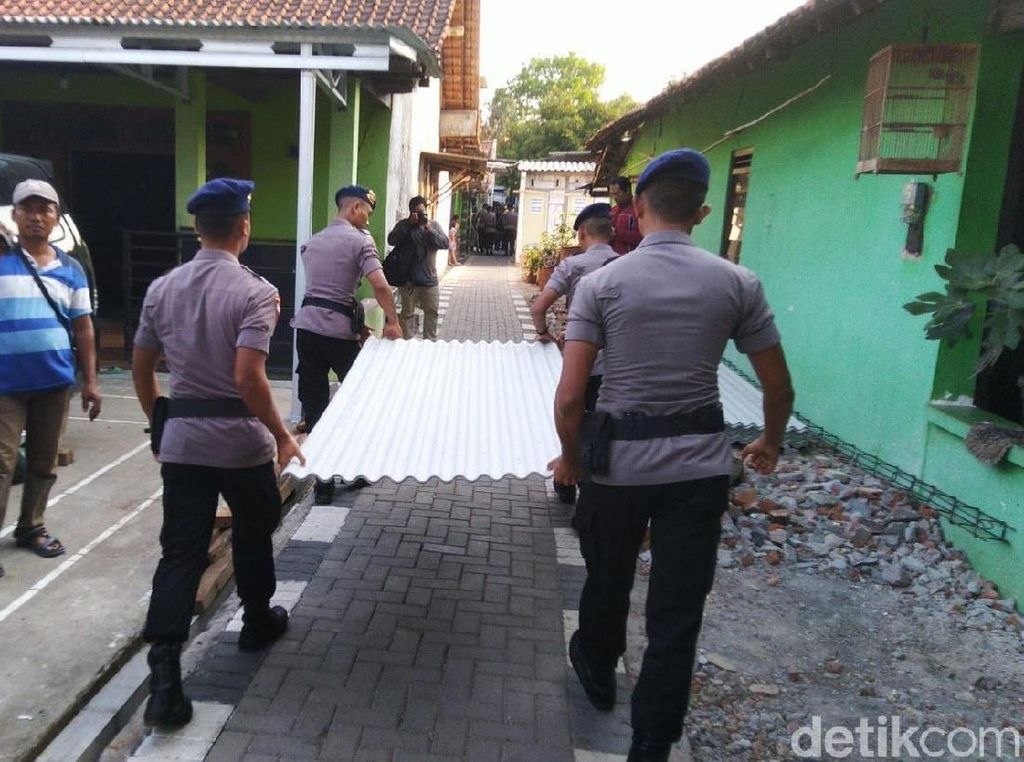 Polisi Prioritaskan Perbaikan Rumah Warga yang Rusak