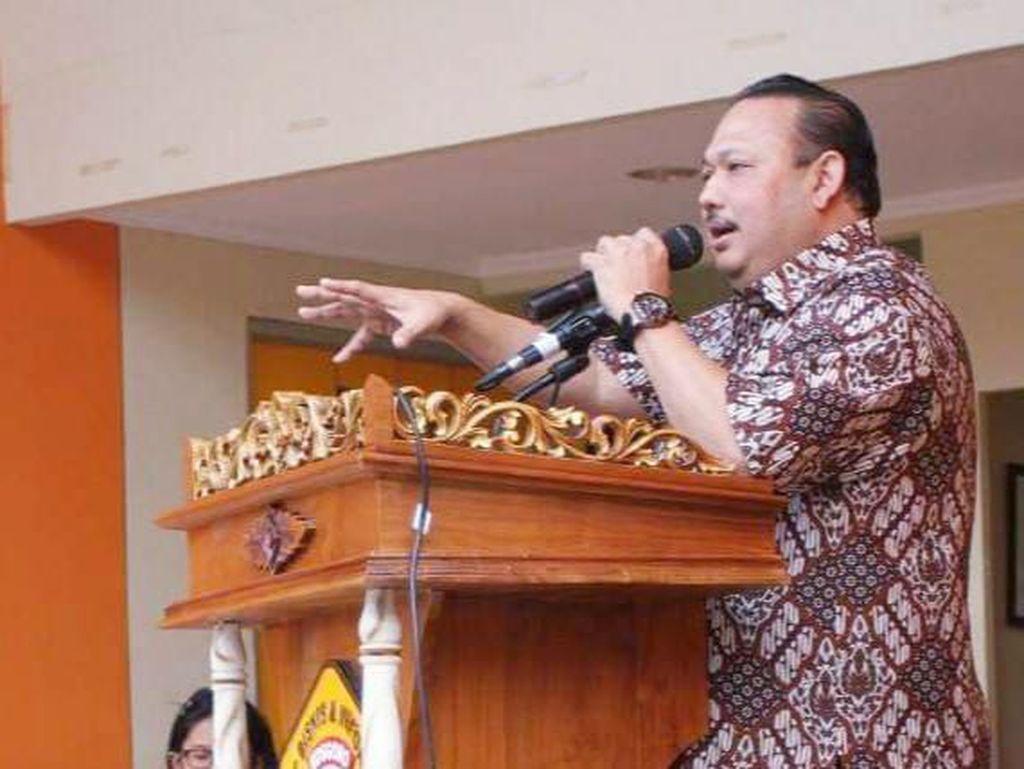 Ketua Lembaga DPP Golkar Ricky Rachmadi Meninggal Dunia