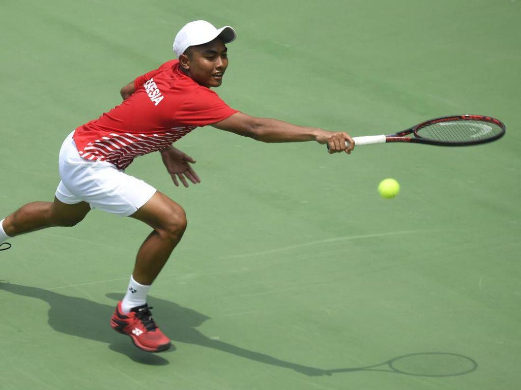 Dikalahkan Selandia Baru di Piala Davis, Mental Pemain Indonesia Disorot