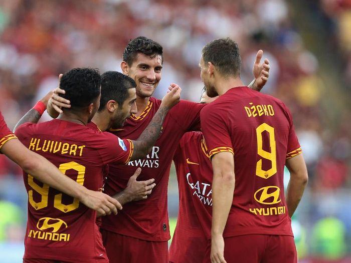 AS Roma libas Sassuolo 4-2 dalam lanjutan Liga Italia (Paolo Bruno/Getty Images)