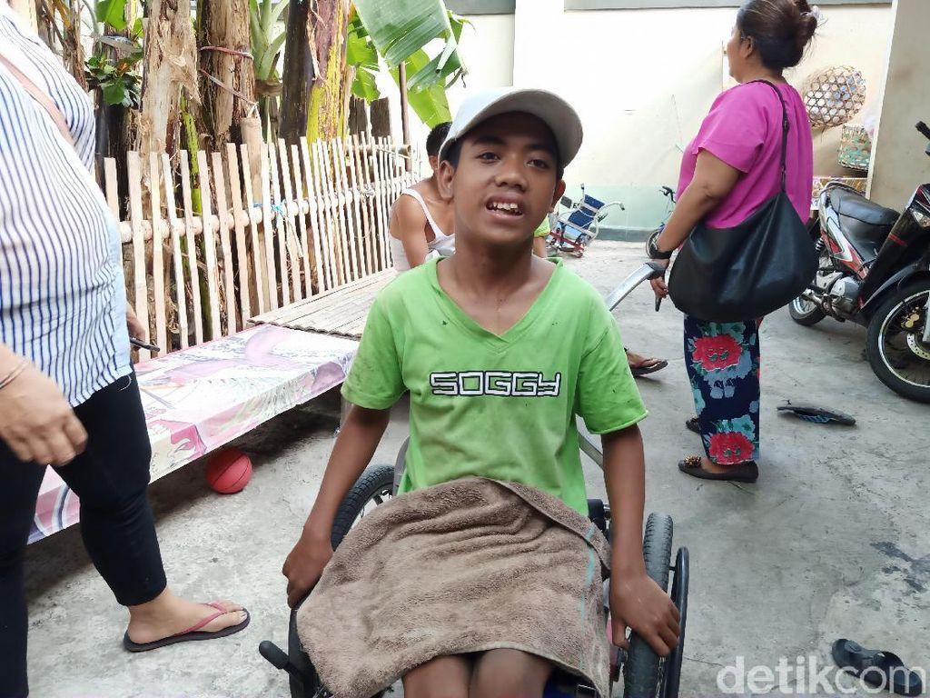 Menengok Keluarga Anak Berkebutuhan Khusus di Pusat Kota Bali