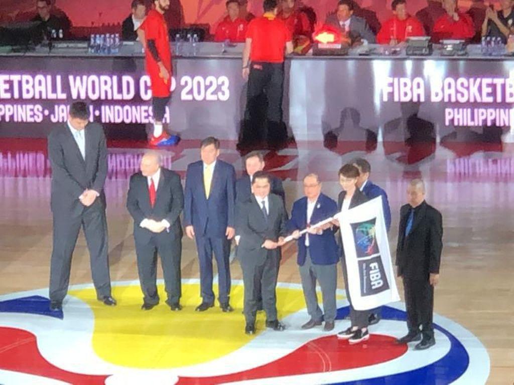 Indonesia Terima Estafet Piala Dunia Basket 2023 di Beijing