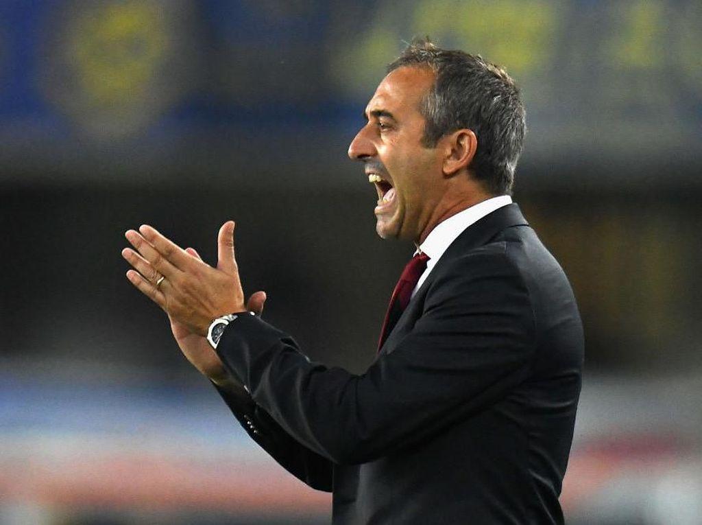 Marco Giampaolo Kalem Tatap Derby Milan Pertamanya