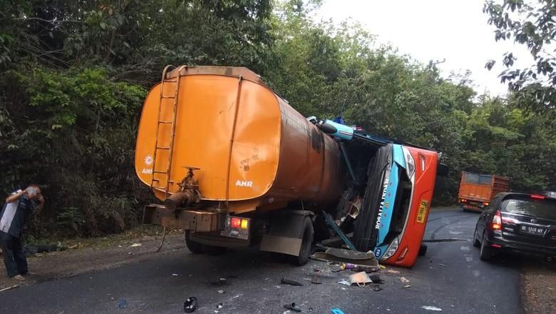 Begini Awal Mula Kecelakaan Maut di Lampung yang Tewaskan 8 Orang