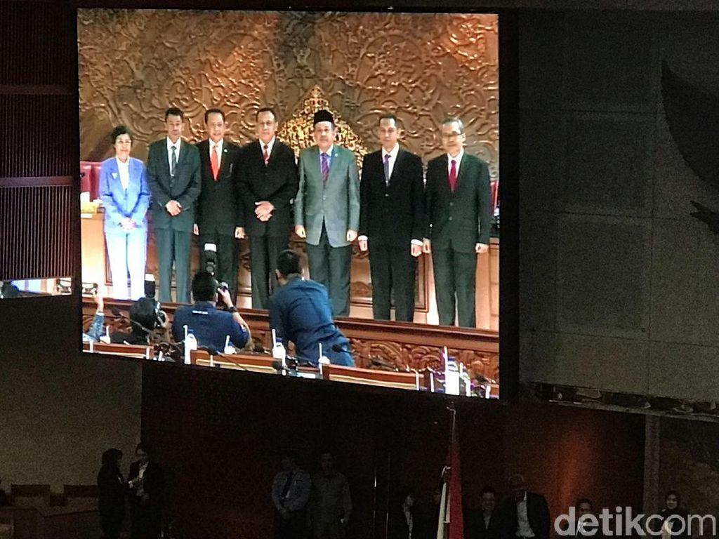 DPR Sahkan 5 Pimpinan KPK Terpilih Hasil Fit and Proper Test