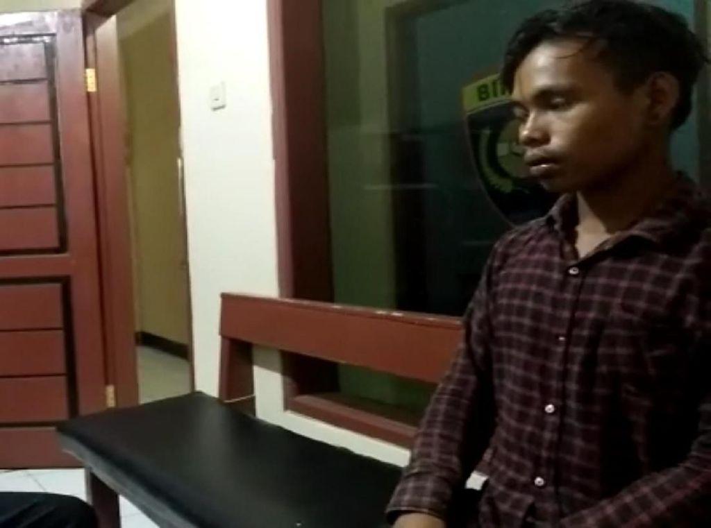 Video Pengakuan Pemuda yang Bakar Motor karena Ditilang