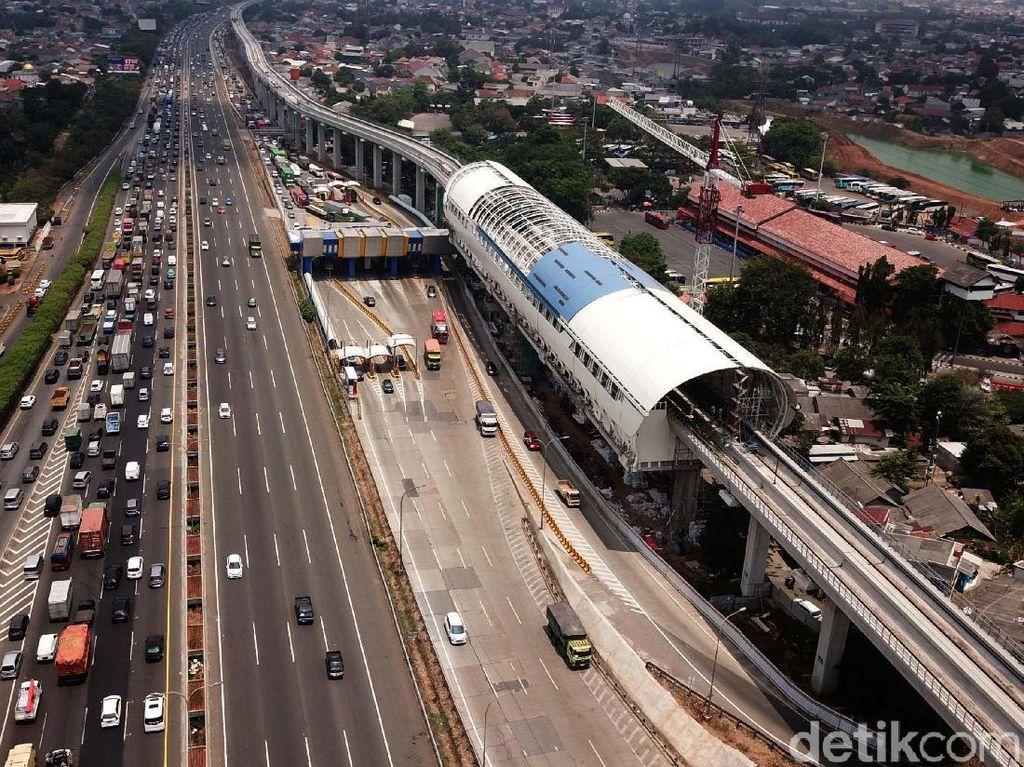 Progres Terkini LRT Cibubur-Cawang