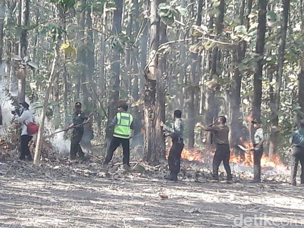 Begini Cara Polisi di Probolinggo Antisipasi Kebakaran Hutan dan Lahan
