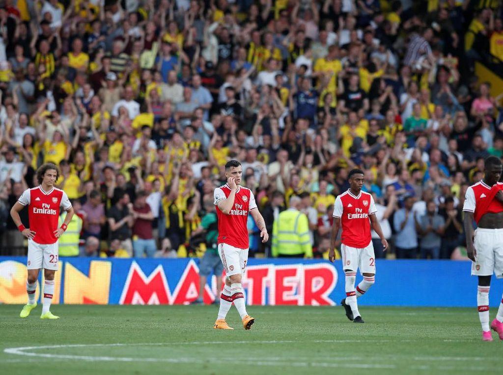 Kritik Arsenal, Xhaka: Kami Terlalu Takut