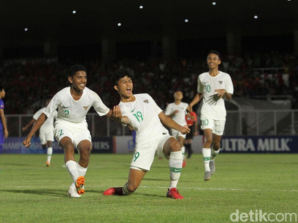 Kualifikasi Piala Asia U-16 2020: Indonesia Gebuk Filipina 4-0
