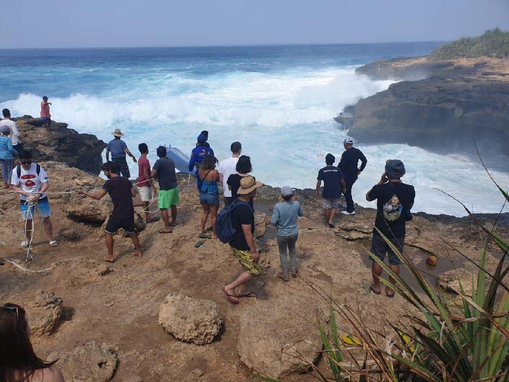 2 Turis yang Tewas di Devils Tear Bali WN Brasil dan Afrika