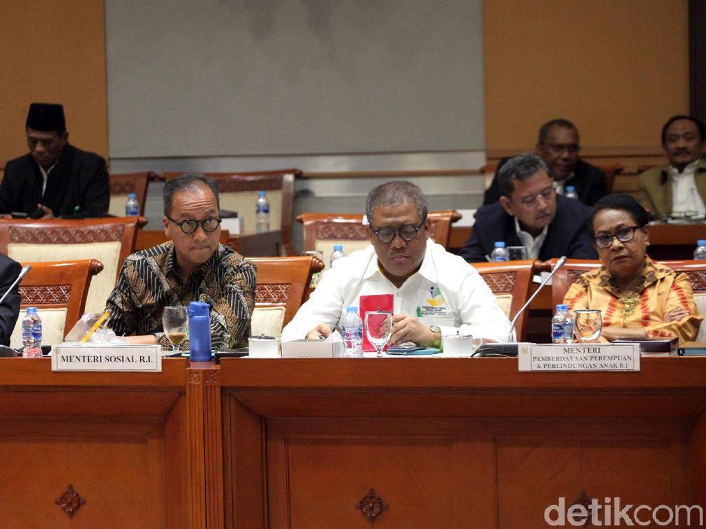 Kala Para Menteri Rapat Bareng Komisi VIII DPR, Bahas Apa?