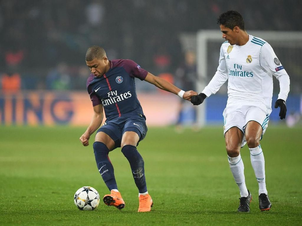 Varane: PSG Tetap Berbahaya Tanpa Neymar dan Mbappe