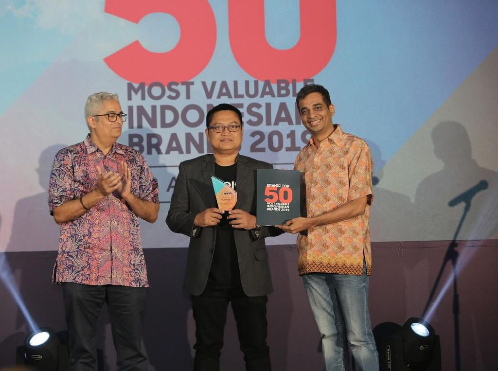 Gojek Masuk Top 10 Most Valuable Indonesian Brand 2019