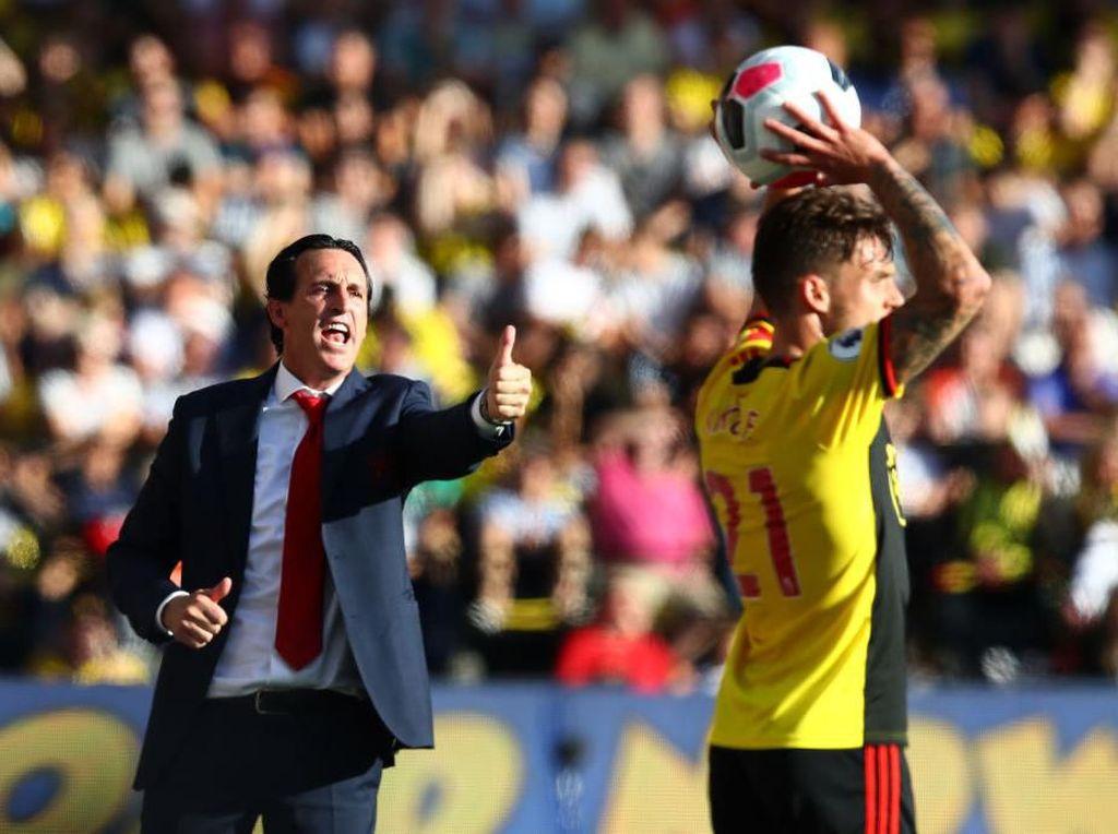 Hampir 1,5 Tahun di Arsenal, Emery Beri Nilai 6 untuk Bahasa Inggrisnya