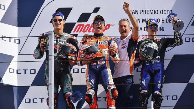Marc Marquez bisa merancang peluang menjadi juara dunia di MotoGP Aragon 2019.