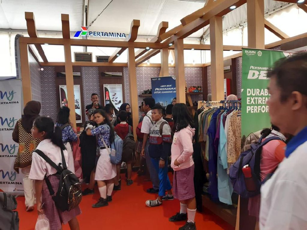 UKM Binaan Pertamina Tuai Pujian di Nias Wonderful Expo