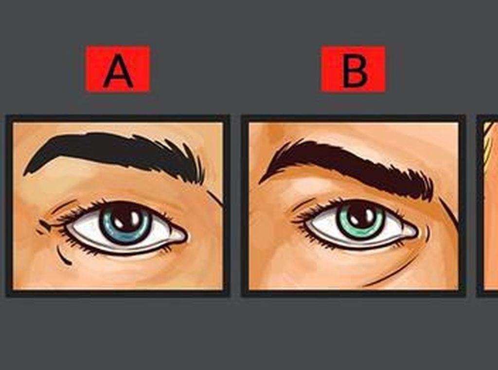 Tes Kepribadian: Pilih 1 dari 3 Mata yang Paling Terlihat Seperti Orang Marah