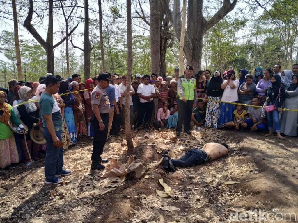 Mayat Pria Ditemukan di Hutan Pasuruan, Leher dan Tangan Terikat Tali Tambang
