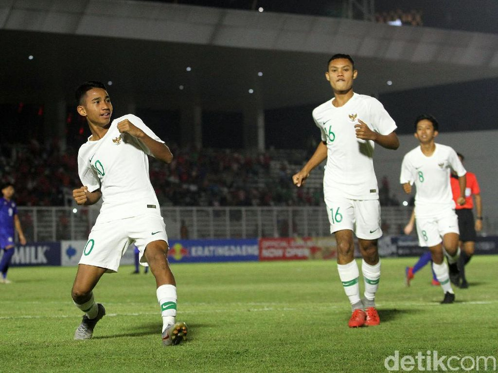 Indonesia Hajar Filipina 4-0