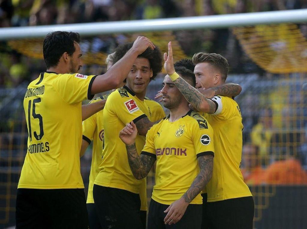 Tangguh di Kandang, Dortmund Pede Kalahkan Barcelona