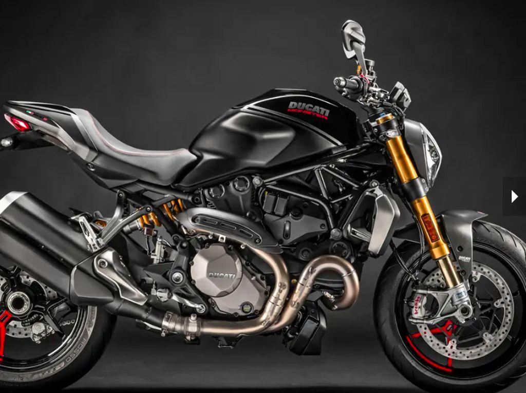 Ducati Kenalkan Monster 1200 S Versi Hitam
