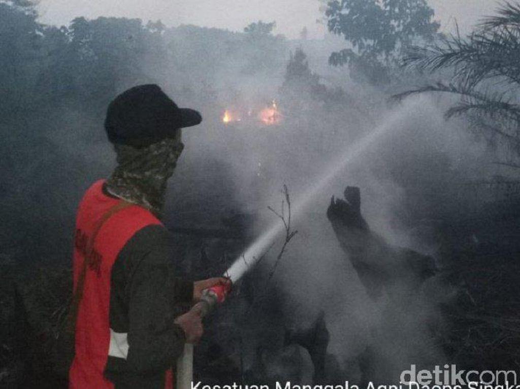 Kabut Asap Sampai ke Singkawang Kalbar, Siswa SD Diliburkan 2 Hari