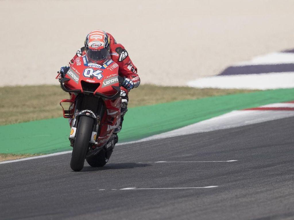 Yamaha Keok Lawan Ducati di Trek Lurus