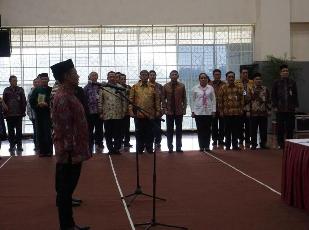 Video Tanpa Saut Situmorang, Pimpinan KPK Lantik 2 Pejabat Baru