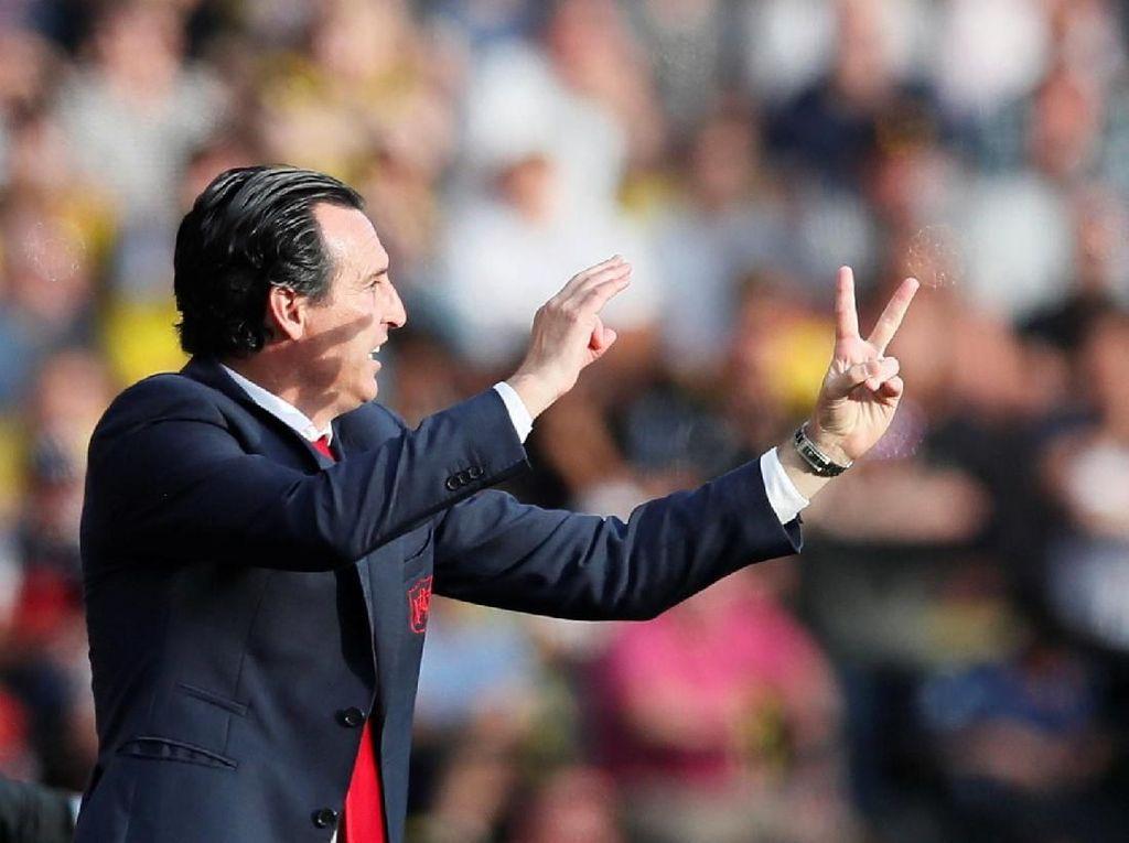 Emery: MU Vs Arsenal Selalu Jadi Laga Menarik