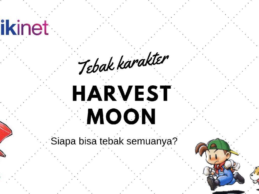 Tebak Karakter di Game Harvest Moon, Masih Ingat Semua?