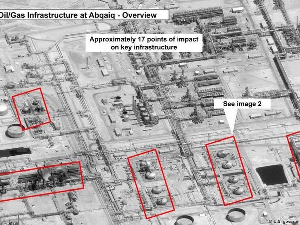 Kilang Saudi Diserang, Amerika Serikat Siap Berperang