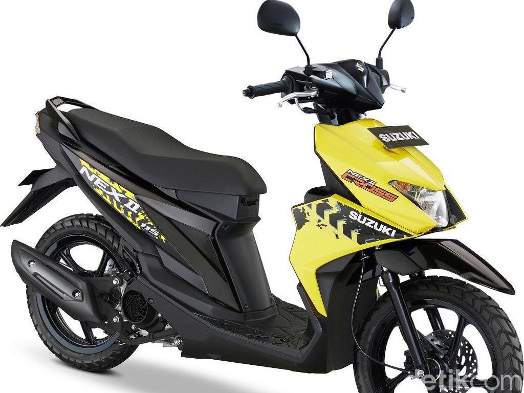Skutik 115 cc untuk Bertualang, Suzuki NEX II Cross