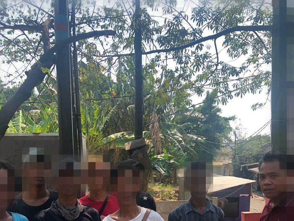 Palak Supir Truk di Cengkareng, 7 Pak Ogah Diamankan