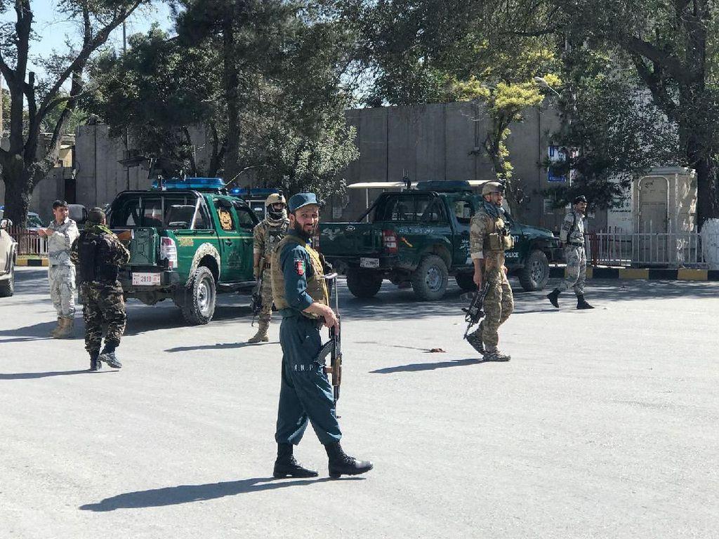 Video 48 Orang Tewas dalam 2 Serangan Bom Bunuh Diri Taliban