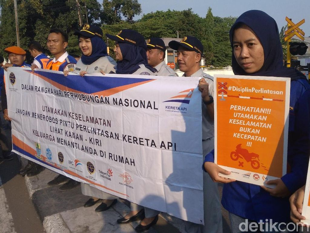 Sepanjang 2019, 45 Nyawa Melayang di Pelintasan KA Daop Cirebon