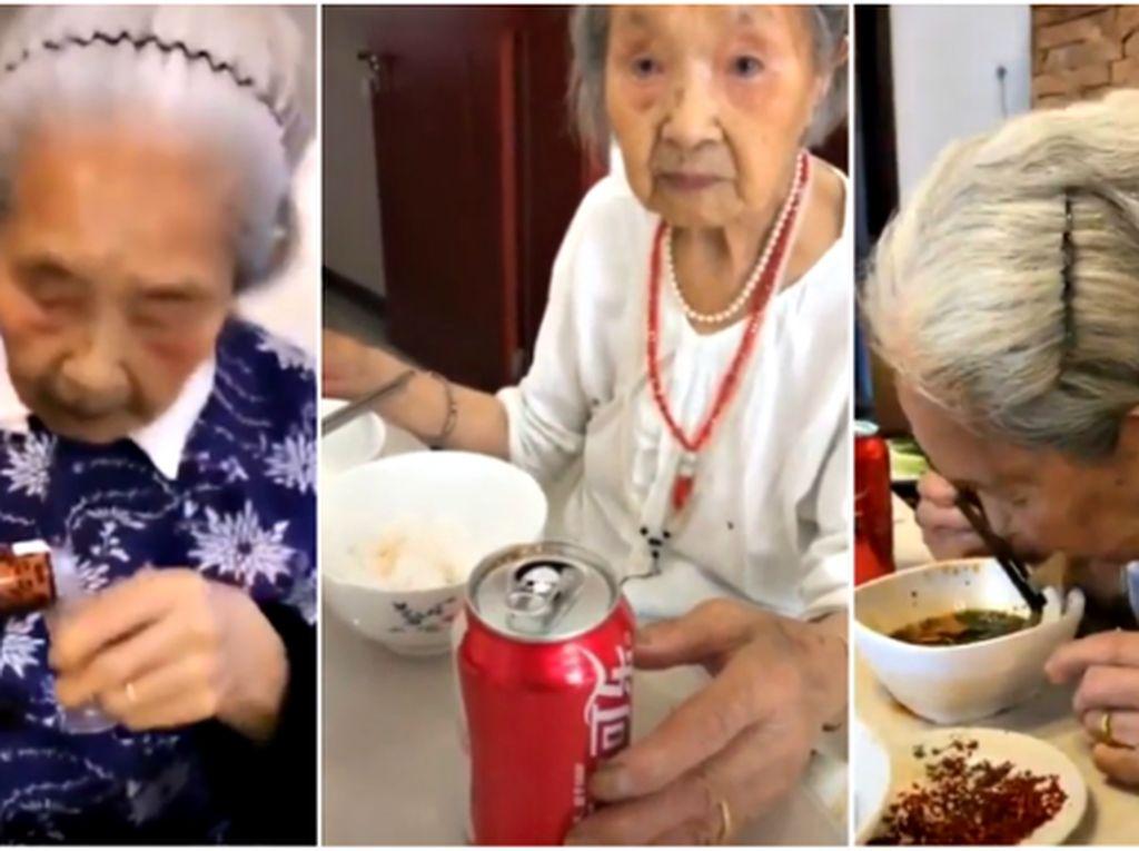 5 Kisah Nenek dan Makanan, Mirip Food Vlogger hingga Jadi Penjual Mie Tertua
