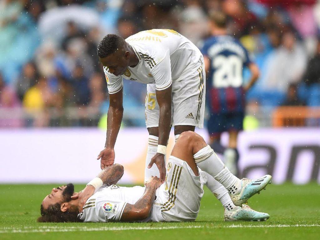 Masalah Cedera Madrid Bertambah, Giliran Marcelo yang Tumbang