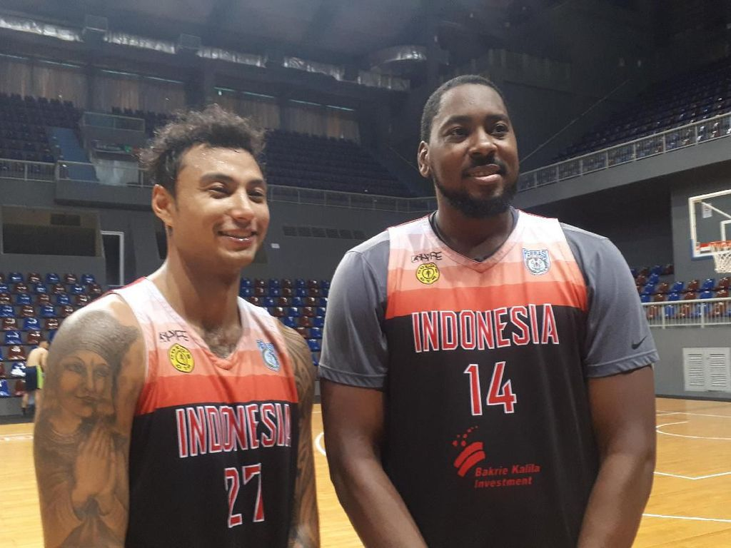 Dua Pemain Asing Gabung, Komposisi Timnas Basket Kian Mantap
