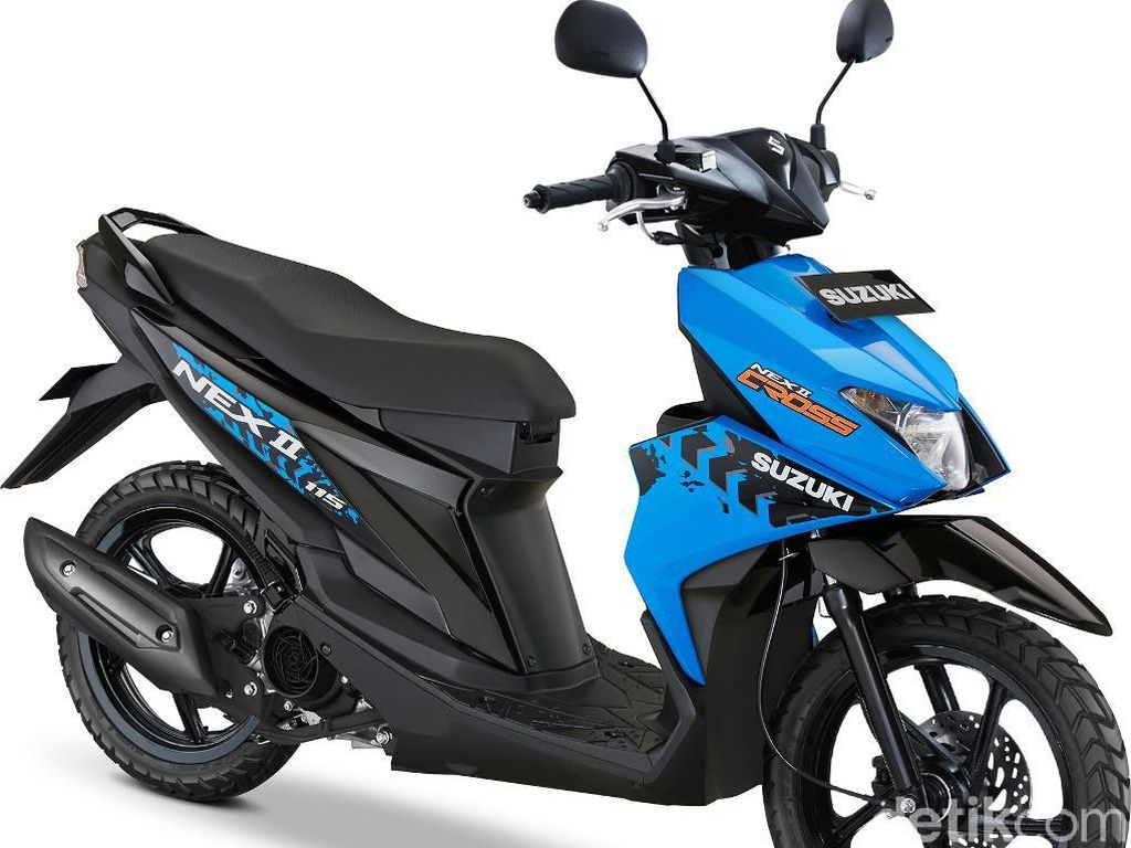 Suzuki NEX II Cross Tantang Beat Street dan X-Ride