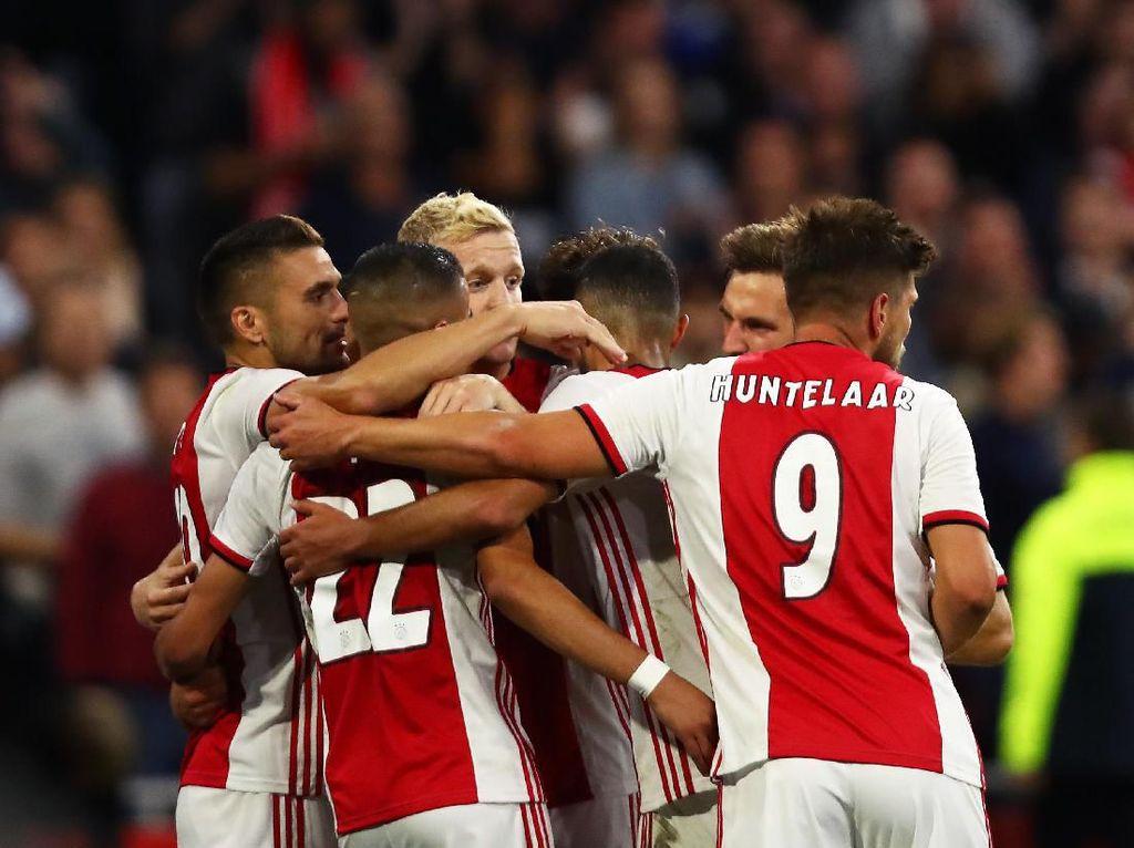 Saatnya Ajax ke Liga Champions Tanpa De Jong dan De Ligt