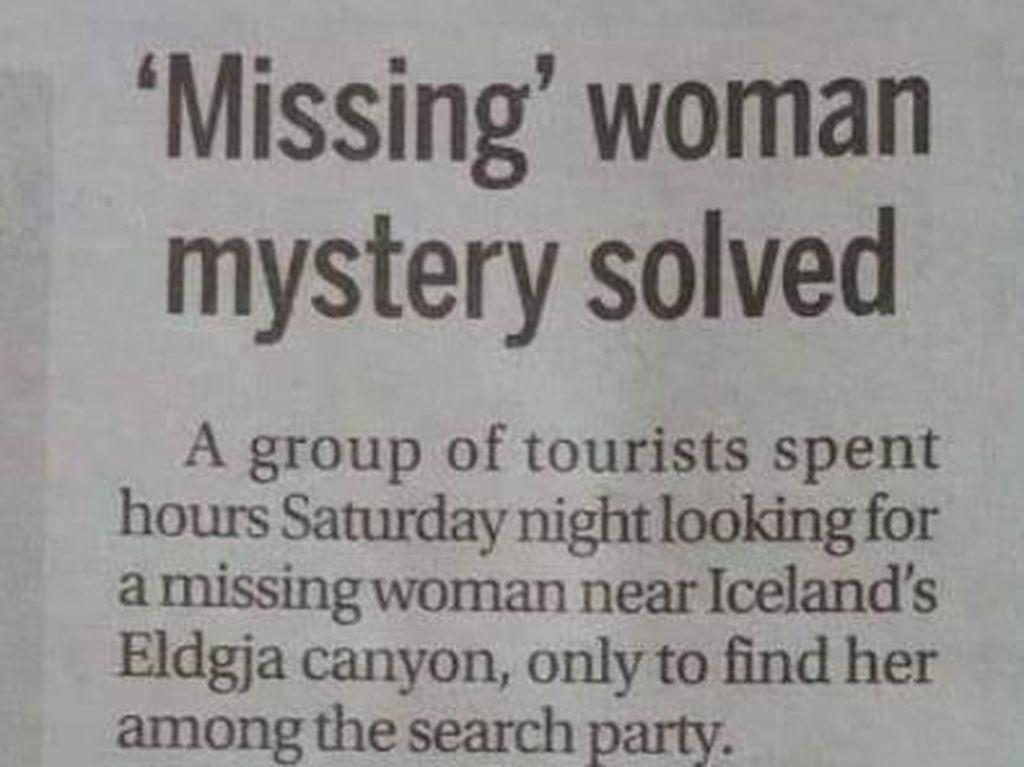 Viral di Twitter, Kisah Turis Hilang yang Mencari Dirinya Sendiri