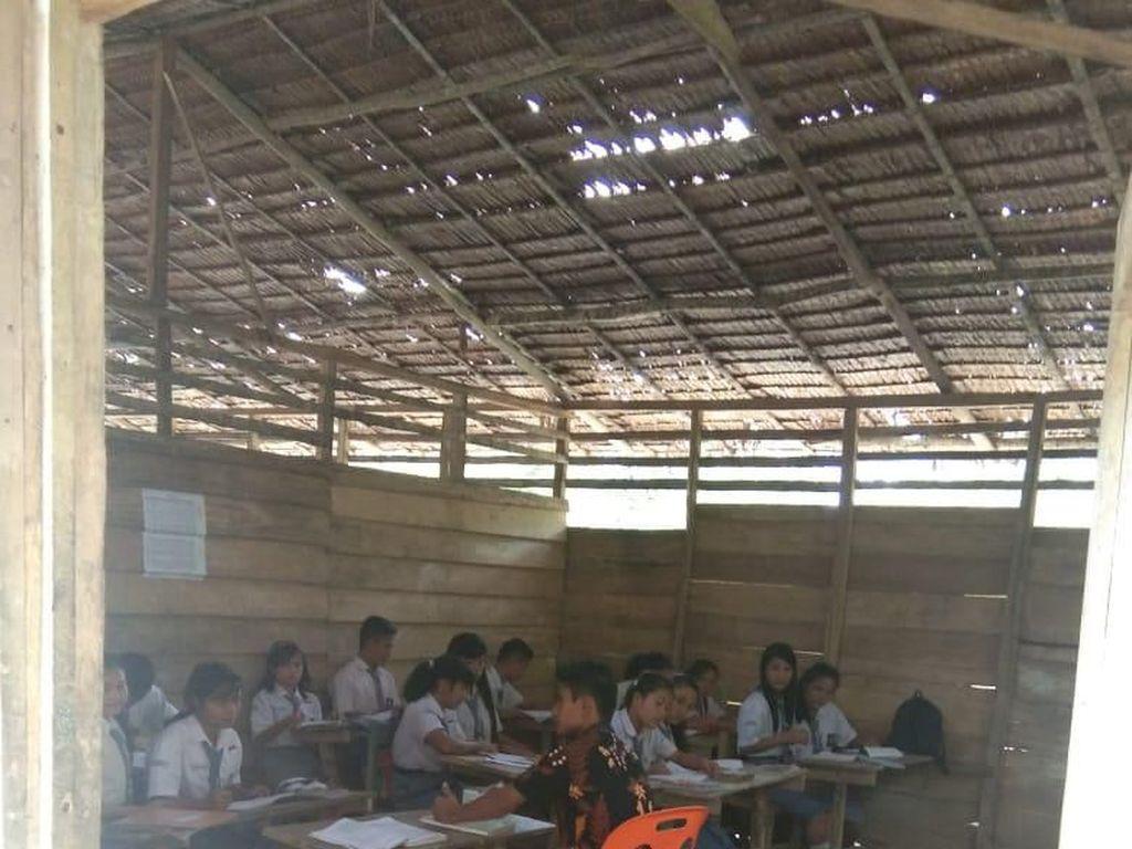 SMAN 3 Huruna Rusak Parah, Pihak Sekolah Berharap Perhatian Pemerintah