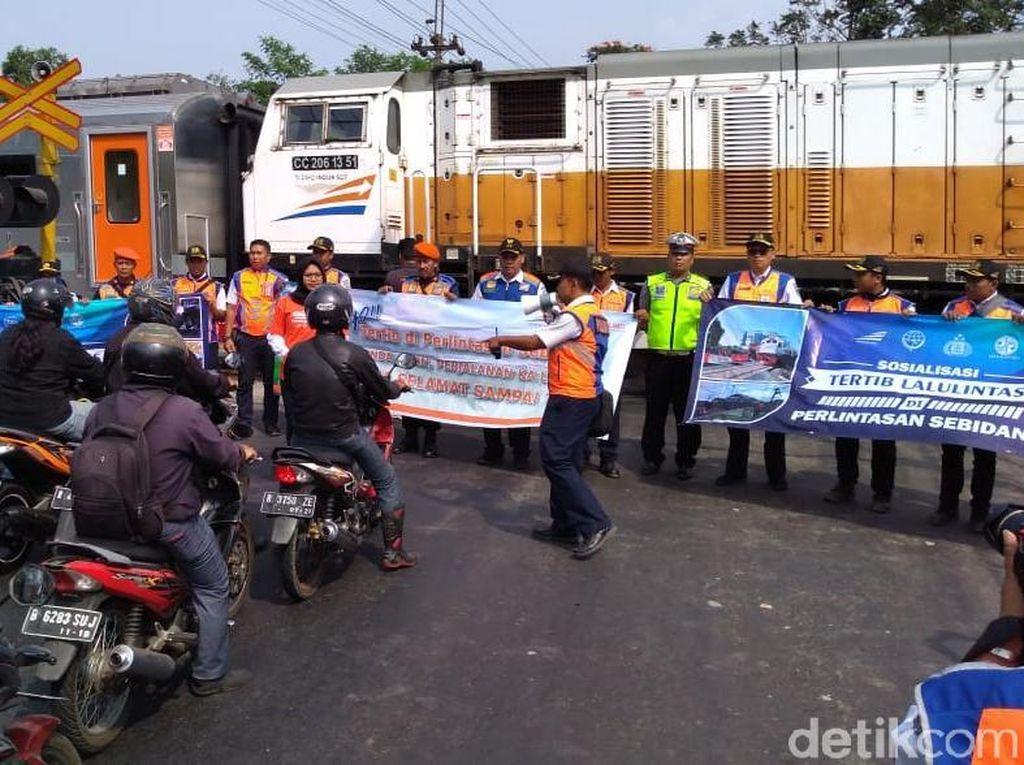 Terjadi 37 Kecelakaan di Pelintasan KA Daop 5 Purwokerto Selama 2019